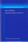 Cover of Incivilities: Regulating Offensive Behaviour