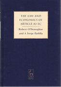 Cover of The Law and Economics of Article 82 EC