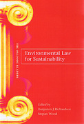 Cover of Environmental Law for Sustainability