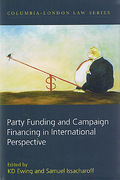 Cover of Party Funding and Campaign Financing in International Perspective