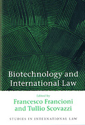 Cover of Biotechnology and International Law