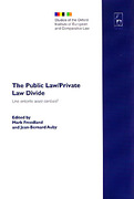 Cover of The Public Law/Private Law Divide: <i>Une entente assez cordiale?</i>