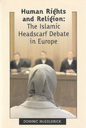Cover of Human Rights and Religion: The Islamic Headscarf Debate in Europe