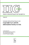 Cover of Copyright Law and the Information Society in Asia