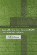 Cover of Judicial Review, Socio-Economic Rights and the Human Rights Act