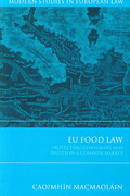 Cover of EU Food Law: Protecting Consumers and Health in a Common Market