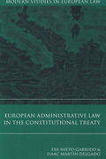 Cover of European Administrative Law in the Constitutional Treaty