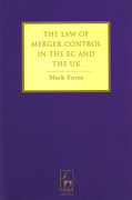 Cover of Law of Merger Control in the EC and the UK