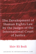 Cover of The Development of Human Rights Law by the Judges of the International Court of Justice
