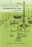 Cover of Comparative Law A Handbook