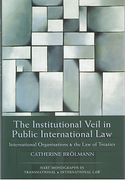 Cover of The Institutional Veil in Public International Law