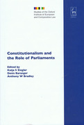 Cover of Constitutionalism and the Role of Parliaments