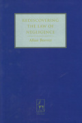 Cover of Rediscovering the Law of Negligence