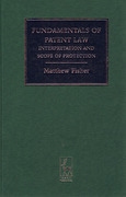 Cover of Fundamentals of Patent Law: Interpretation and Scope of Protection