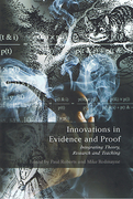 Cover of Innovations in Evidence and Proof: Integrating Theory, Research and Teaching