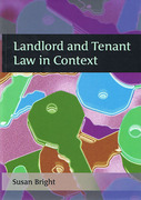 Cover of Landlord and Tenant Law in Context