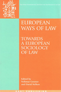 Cover of European Ways of Law: Towards a European Sociology of Law