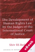 Cover of The Development of Human Rights Law by the Judges of the International Court of Justice (eBook)