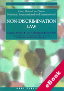 Cover of Cases, Materials and Text on National, Supranational and International Non-Discrimination Law (eBook)