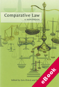 Cover of Comparative Law A Handbook (eBook)