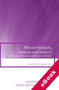 Cover of Whose Freedom, Security and Justice? EU Immigration and Asylum Law and Policy (eBook)