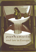 Cover of Euthanasia and Law in the Europe