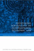 Cover of Redefining Sovereignty in International Economic Law