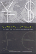 Cover of Contract Damages: Domestic and International Perspectives