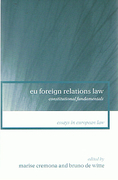 Cover of EU Foreign Relations Law: Constitutional Fundamentals