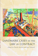 Cover of Landmark Cases in the Law of Contract