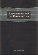Cover of Retroactivity and the Common Law