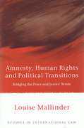 Cover of Amnesty, Human Rights and Political Transitions: Bridging the Peace and Justice Divide