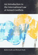 Cover of An Introduction to the International Law of Armed Conflicts