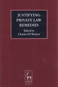 Cover of Justifying Private Law Remedies