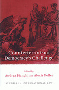 Cover of Counterterrorism: Democracy's Challenge