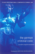 Cover of The German Criminal Code: A Modern English Translation