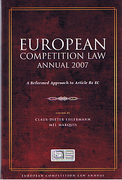 Cover of European Competition Law Annual 2007: A Reformed Approach to Article 82 EC