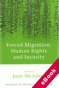 Cover of Forced Migration, Human Rights and Security (eBook)