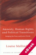 Cover of Amnesty, Human Rights and Political Transitions: Bridging the Peace and Justice Divide (eBook)