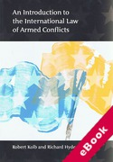Cover of An Introduction to the International Law of Armed Conflicts (eBook)
