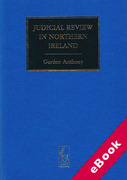 Cover of Judicial Review in Northern Ireland (eBook)