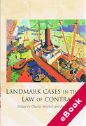 Cover of Landmark Cases in the Law of Contract (eBook)