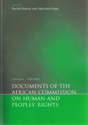 Cover of Documents of the African Commission on Human and Peoples' Rights Volume II: 1999-2007