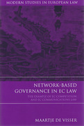 Cover of Network-Based Governance in EC Law: The Example of EC Competition and EC Communications Law