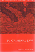 Cover of EU Criminal Law