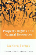 Cover of Property Rights and Natural Resources