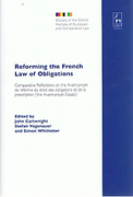 Cover of Reforming the French Law of Obligations