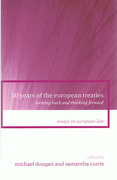 Cover of 50 Years of the European Treaties: Looking Back and Thinking Forward