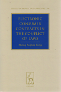 Cover of Electronic Consumer Contracts in the Conflict of Laws