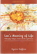 Cover of Law's Meaning of Life: Philosophy, Religion, Darwin and the Legal Person